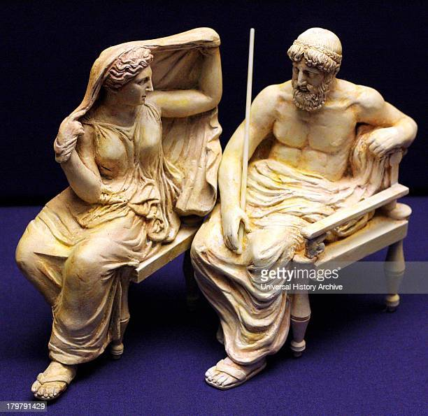 3D recreation of the Olympian gods of the Parthenon frieze By sculptors from the Tsukuba University and Tokyo University of the Arts