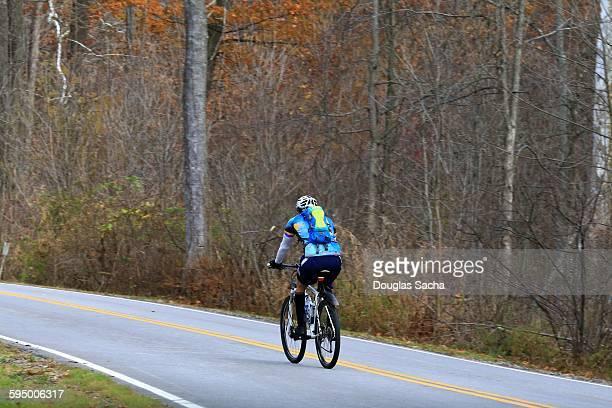 Recreational bike on the road