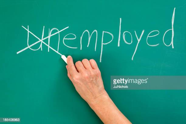 Recruitment or Employment Issues Chalk Drawing