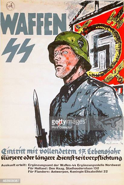 Recruitment poster for the Waffen SS c1940c1944
