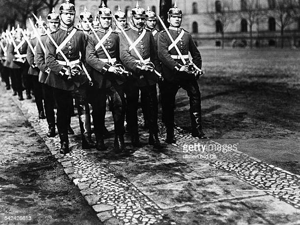 Recruits of the 1st Guard Dragoon Regiment in BerlinKreuzberg