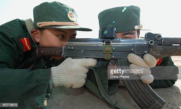 PLA Recruits Trained At A Training Base In Qinghai