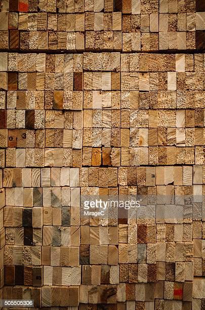 Rectangle Wooden Log