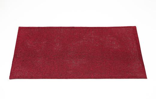 Rectangular burgundy place mat 521084736