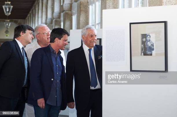 Rector of the Complutense University of Madrid Carlos Andradas Juan Jesus Armas Marcelo Former French Prime Minister Manuel Valls and and Nobel prize...
