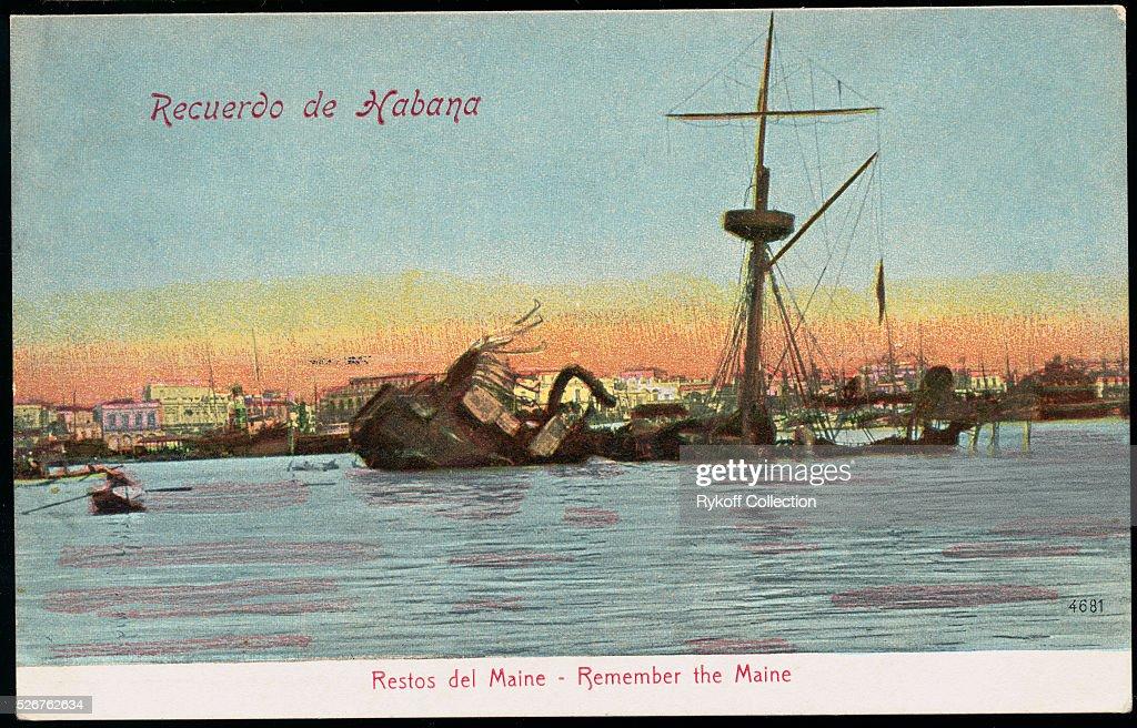 Recuerdo de Habana. Restos del Maine - Remember the Maine