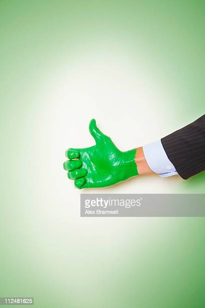recycle concept - green thumb stock pictures, royalty-free photos & images
