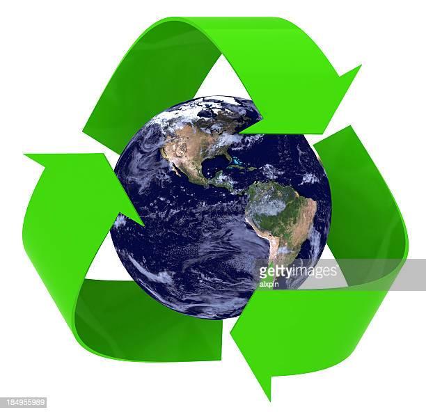 Recycling Erde