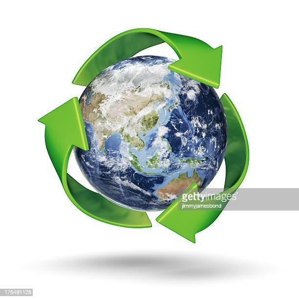 recycle earth - south east asia - environmental signs and symbols stock pictures, royalty-free photos & images