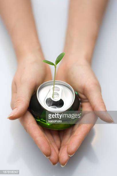 recycle - tin can stock pictures, royalty-free photos & images