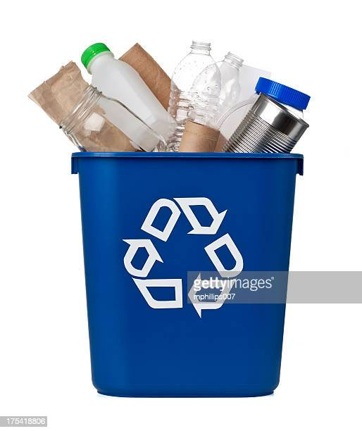 recycle - garbage bin stock pictures, royalty-free photos & images