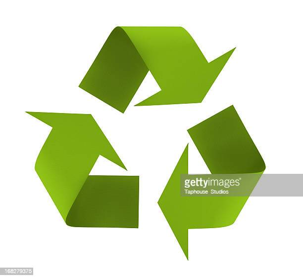 recycling symbol - recycling stock-fotos und bilder