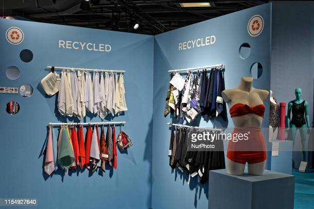 Recycled Fabric is the trend for Summer 2020 during the Fashion Show at Unique By Mode City the International Trade Show of Lingerie Swimwear and...