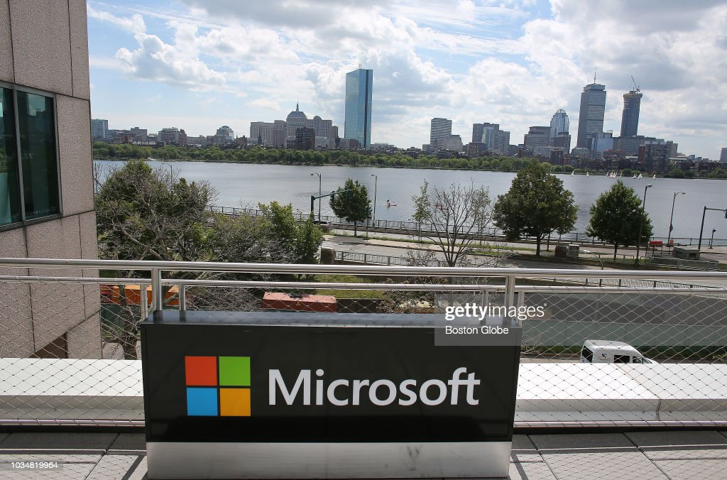 a recycled microsoft sign from another location finds a new home