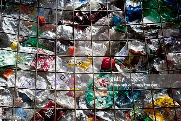 recycled plastic materials - timothy hearsum stockfoto's en -beelden