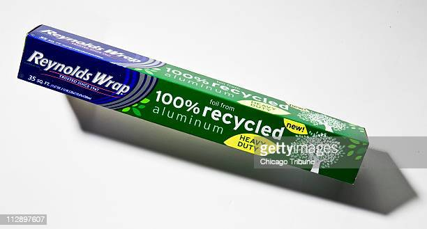Recycled Reynolds Wrap aluminum foil debuted on Earth Day