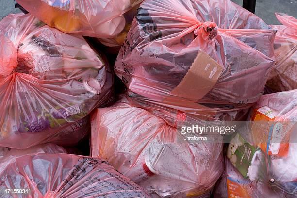 Sacs poubelle de recyclage