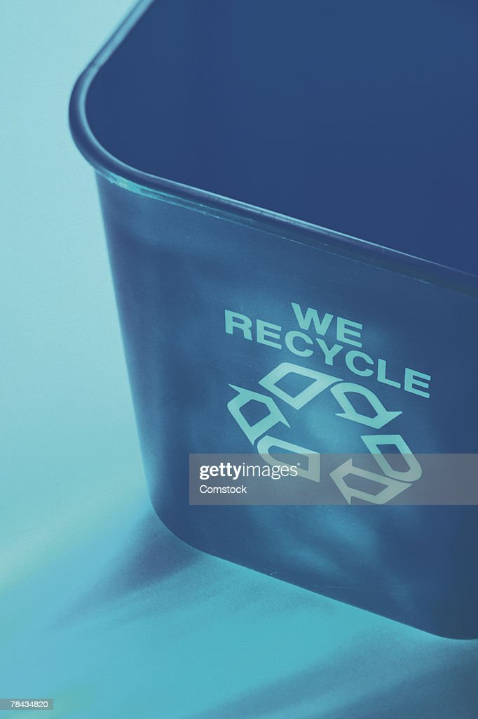 Recycling bin : Stockfoto