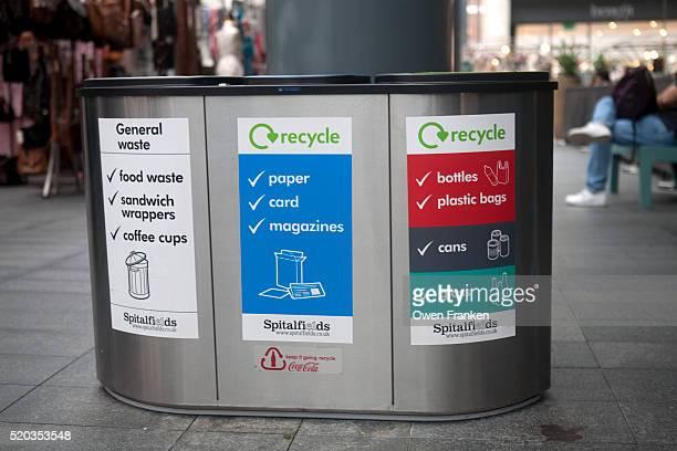 recycling bins in London