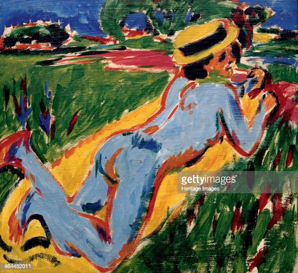 Recycling Blue Nude in a Straw Hat 1909 From a private collection