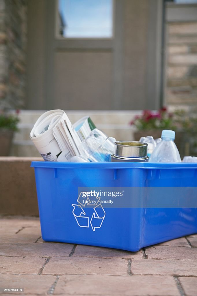 Recycling box : Foto stock