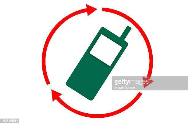 Recyclage pour téléphone portable