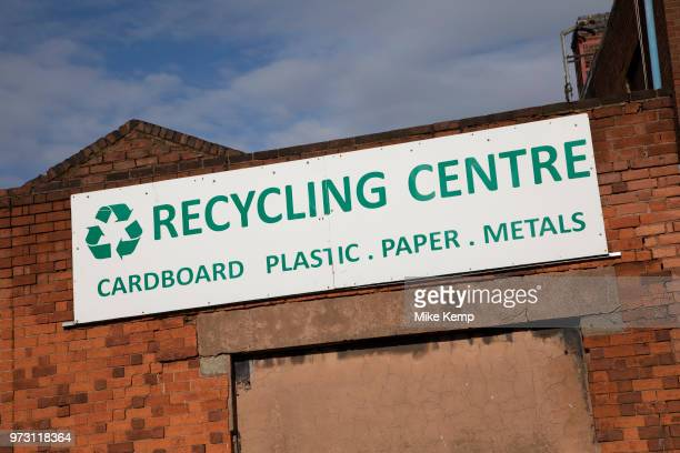 Recycling centre in Digbeth Birmingham England United Kingdom Digbeth is an area of Central Birmingham England Following the destruction of the Inner...