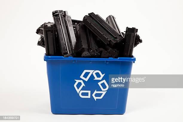Conteneur de Recyclage de cartouches d'complet