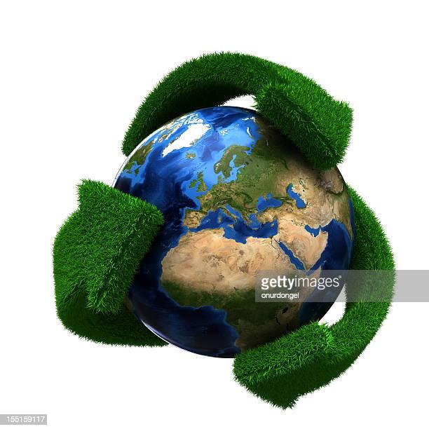 Reciclaje de tierra