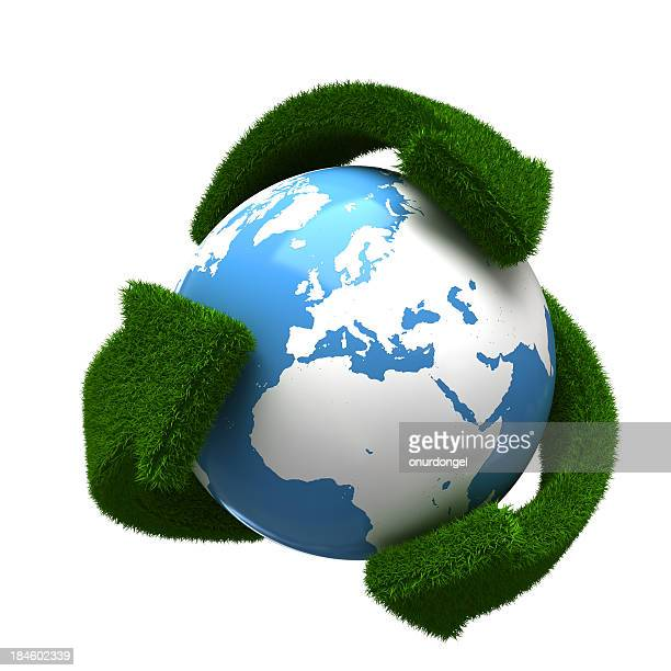 recycling earth - gras stock pictures, royalty-free photos & images