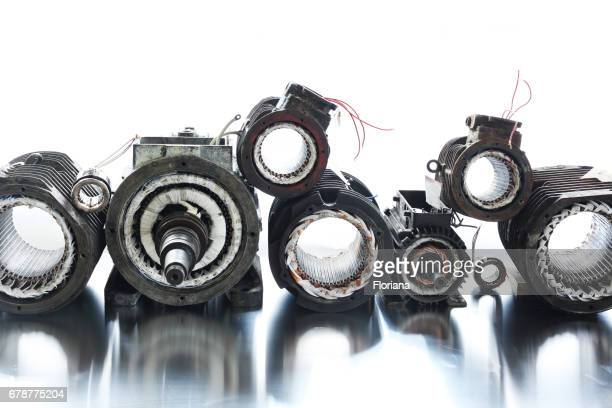 recycling electric motors - electric motor stock photos and pictures