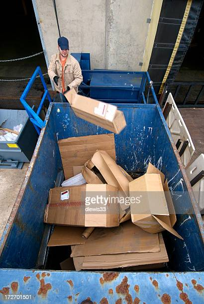 Recycling Industrial Cardboard