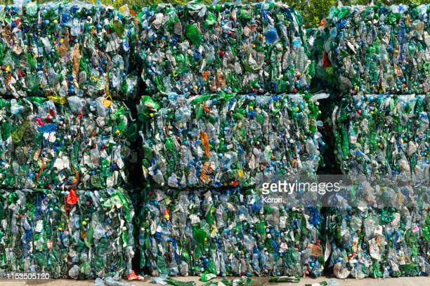 recycling, pattern, waste recovery - plastic stockfoto's en -beelden