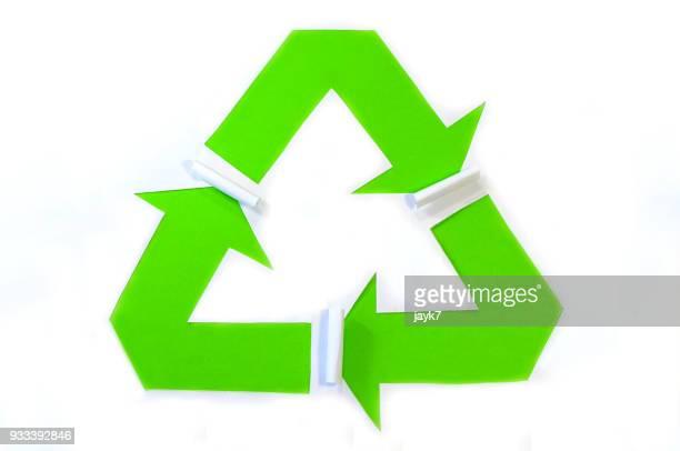 f10adaa7f Reducir Reciclar Y Reutilizar Logotipo En El Centro De La Tierra ...