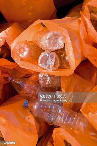 recycling plastic bottles - disposable stock photos and pictures