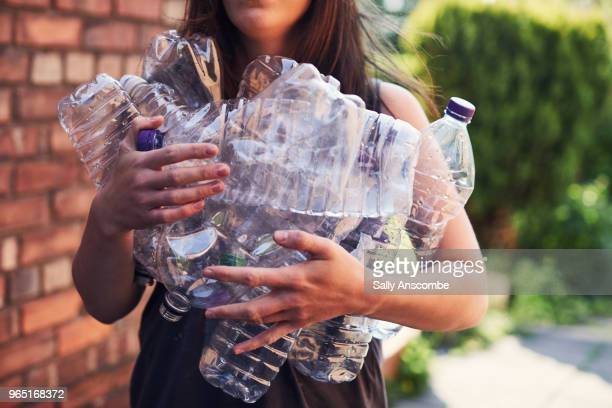 recycling plastic - pollution stock pictures, royalty-free photos & images