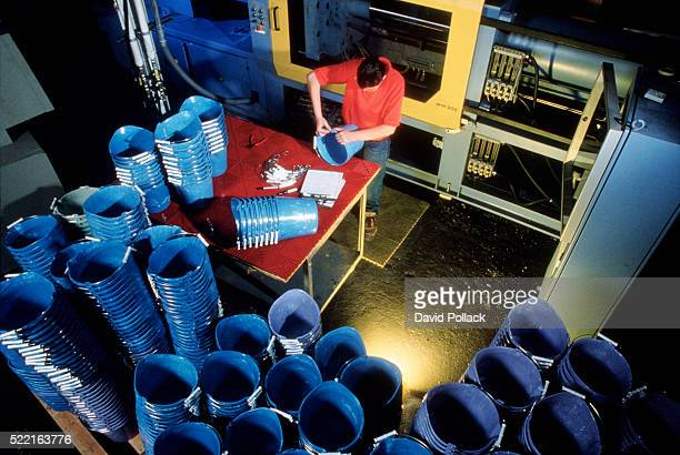 recycling plastics - daily bucket stock pictures, royalty-free photos & images
