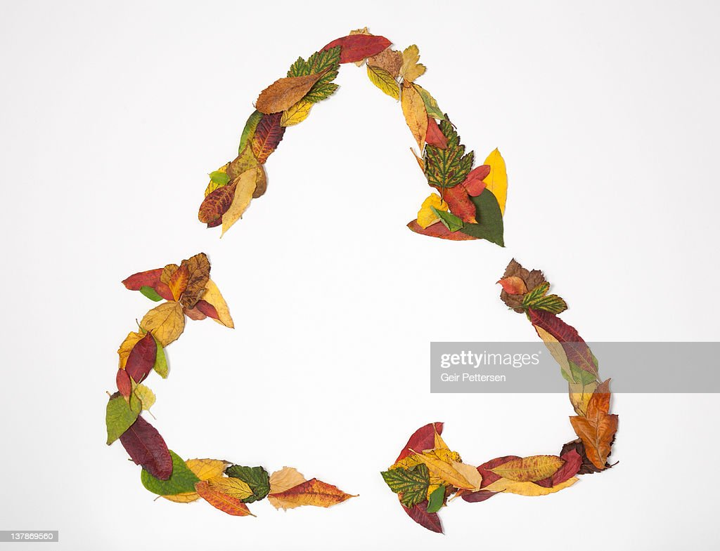 Recycling symbol formed of 4 seasons leaves stock photo getty images recycling symbol formed of 4 seasons leaves stock photo biocorpaavc Choice Image