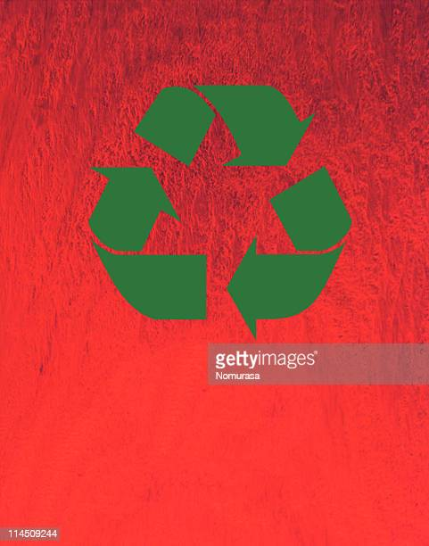 Green arrow wallpaper stock photos and pictures getty images recycling symbol voltagebd Gallery