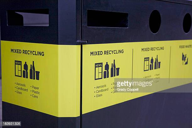 Recyling collection bin