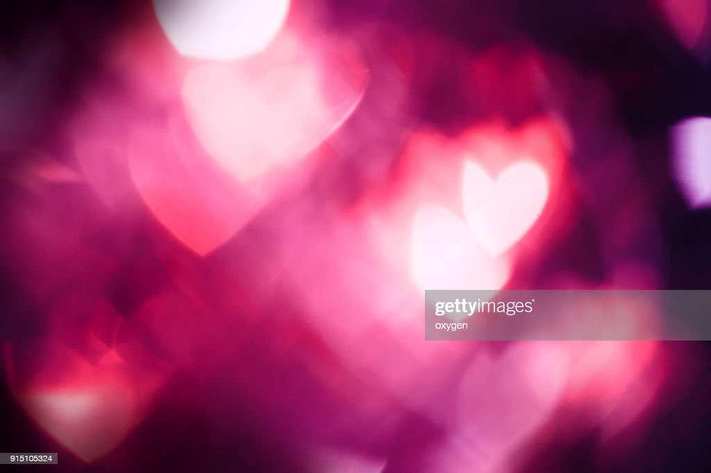 Red Abstract background with heat bokeh : Stock Photo