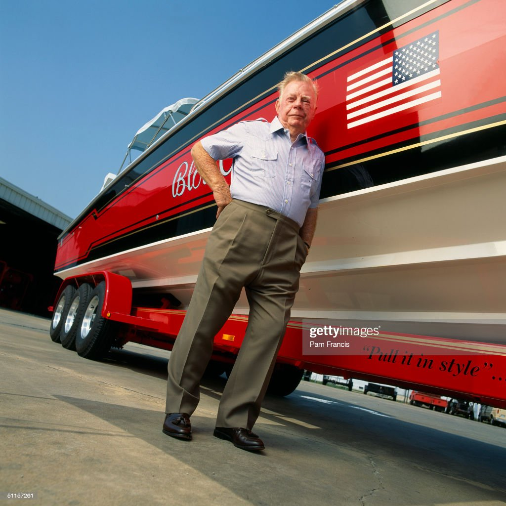 Red Adair, World-renowned Firefighter Photographed On Sept