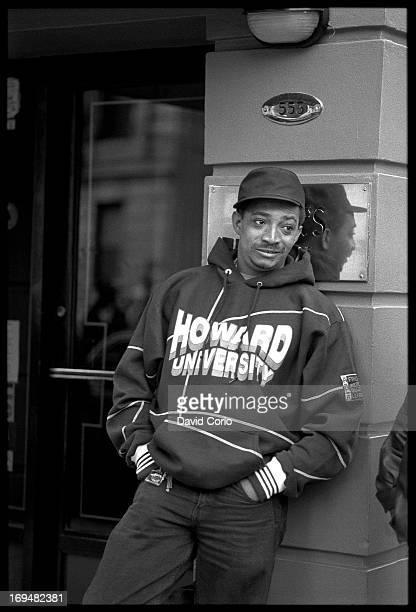 DJ Red Alert in Harlem New York 3rd November 1993