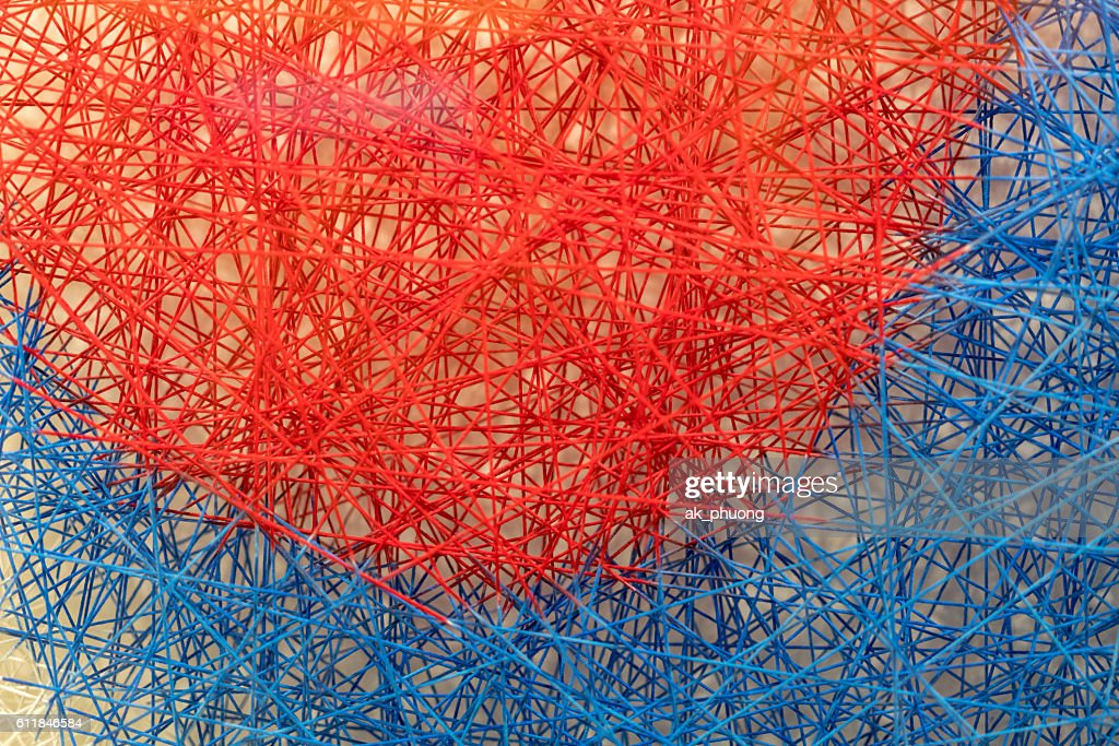 Red and Blue : Stock Photo