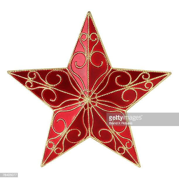 Red and gold star