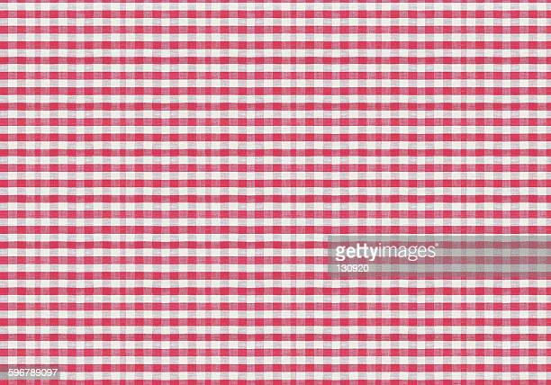 red and white huge size texile