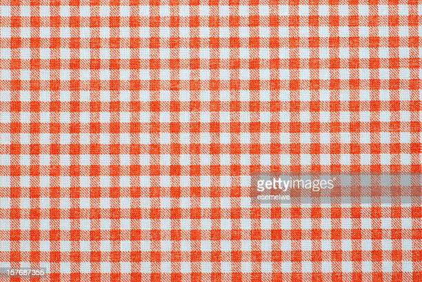 red and white seamless plaid background template - picnic table stock pictures, royalty-free photos & images