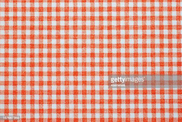 Cuadro vichy patrón de tela