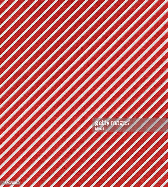 red and white stripe paper