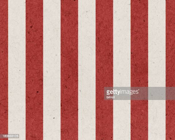 red and white striped paper